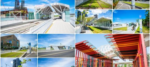 高雄環狀輕軌路線、周邊景點、收費方式總整理(07/11更新)