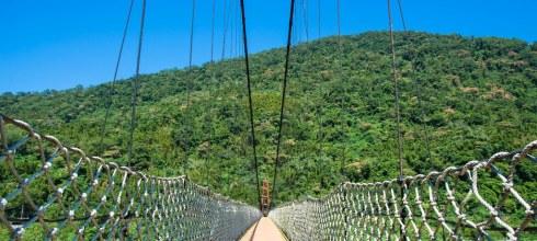  新竹‧尖石 北角吊橋*擁抱大自然,就算有懼高症還是要走一次北台灣第一長的吊橋