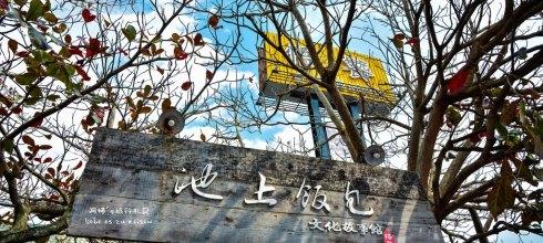 Taitung|台東‧池上|來台東池上就是要來吃悟饕池上便當,參觀池上飯包文化故事館,吃完再到大坡池散步