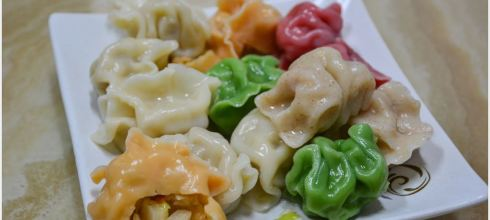 |團購|色彩繽紛讓人看到就胃口大開的香草坊純手工蔬食水餃