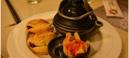 Kaohsiung|高雄‧左營|在空中花園旁用餐*上海歐法蔬食百匯