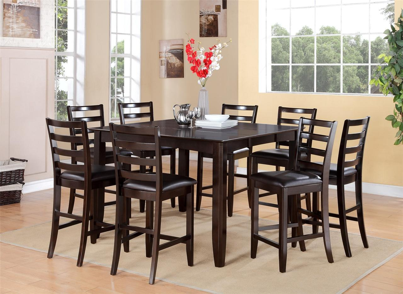 dining room table for 8 high kitchen table Antique Regency Dining Table