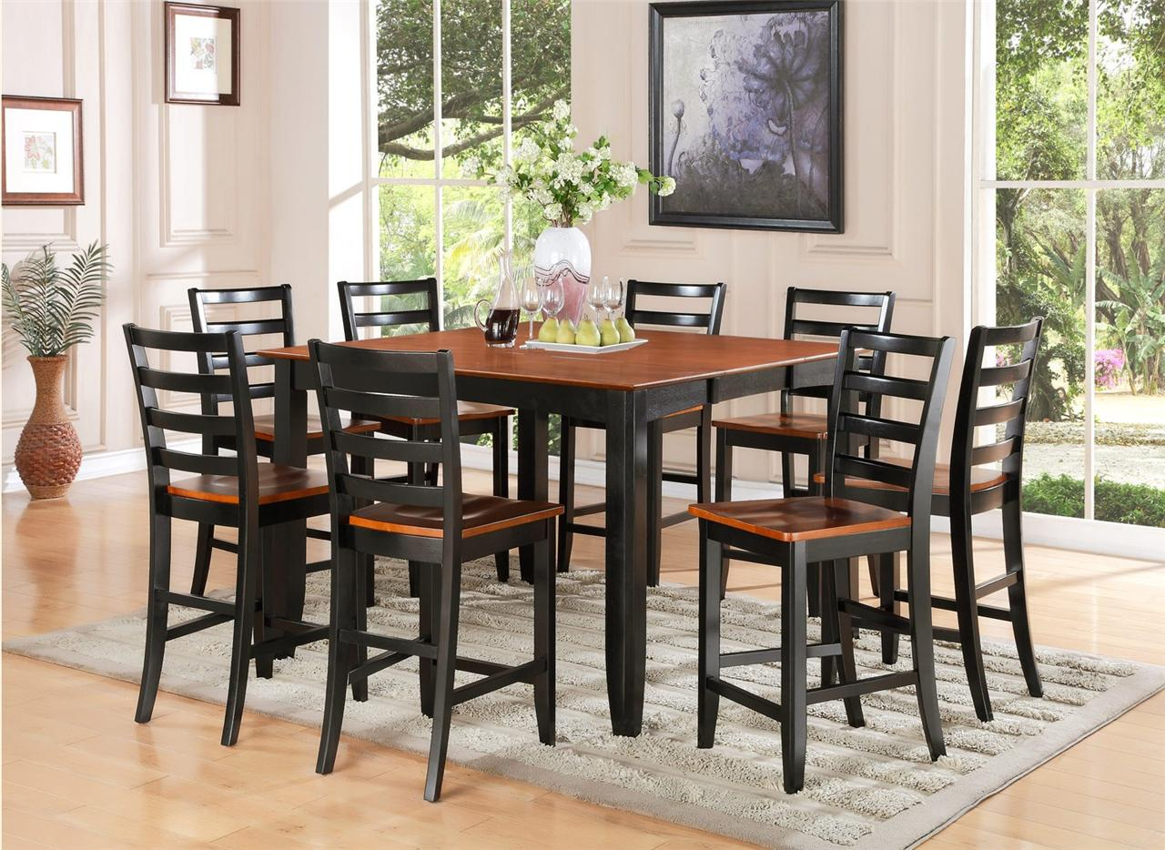 high dining table sets high kitchen table sets Random Photo Gallery Of High Dining Room Tables