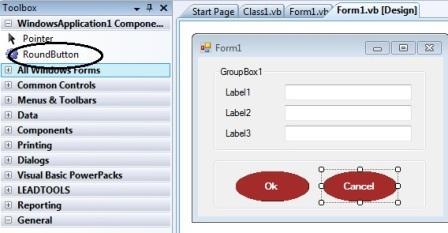 Create Round button