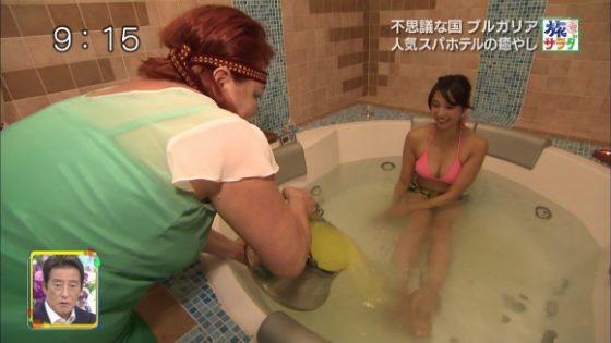 広瀬未花が旅サラダで水着入浴で巨乳を見せつけてくれたぞwwwwwエロすぎて勃起不可避wwwww(エロキャプ画像あり)