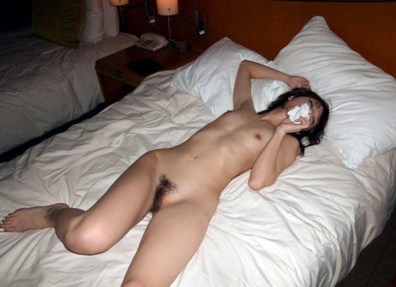 えっち直後の女の無防備な姿のリベンジポルノエロ画像30枚