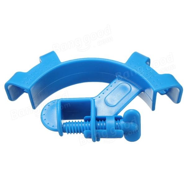 Aquarium Fish Tank Water Pipe Filter Hose Mount Tube Holder Blue at