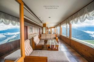【南投】。靠近雲海的清境民宿、雲霧中的萬大水庫 [維多利亞山莊] Victoria Peak Garden Resort │南投清境住宿篇