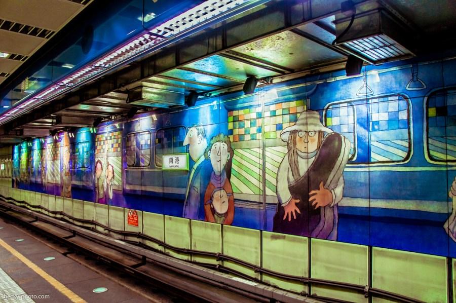 【台北】。幾米藝術出現在 CITYLINK 南港車站百貨 │親子樂園 * 新開幕
