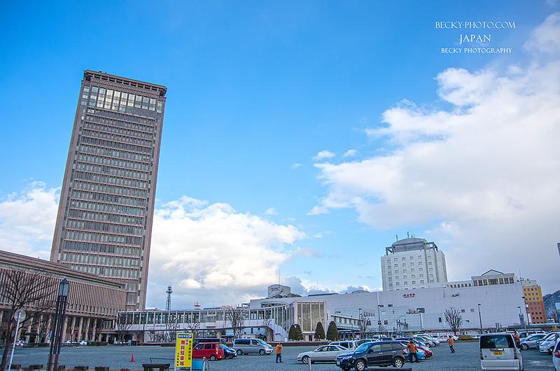 【日本】。山形駅夜景24F展望台 霞城セントラル │日本東北自由行攝影景點