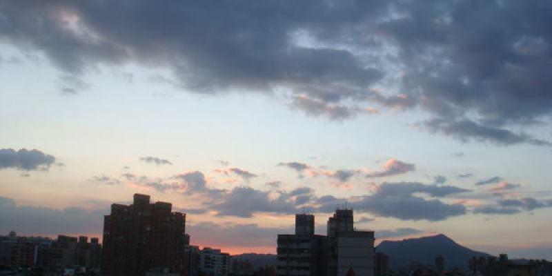 下雨過後的天空