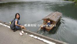 日本四國高知の搭さこや屋形舟感受日本最後清流四万十川的風光(遲開的向日葵拍攝場景)