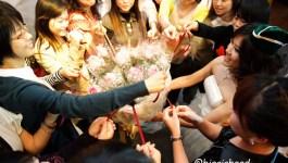 。喜喜來了。台南婚宴–幸福傳遞舞台活動