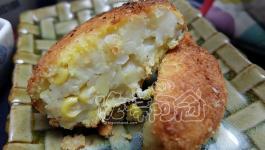 飲食自煮|無麵粉乳酪可樂餅-保存(消滅)天然澱粉的好方法
