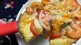 飲食自煮|無麵粉披薩,餅皮裡面有你猜不到的蔬菜喔!