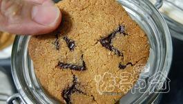 自製無麵粉義式咖啡巧克力餅乾(crispy espresso chocolate cookies)