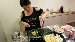 日本沖繩住宿|在chillma的開放式廚房下廚