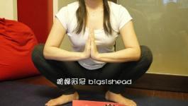 easyoga瑜伽/瑜珈馬拉松 3/18(一) Day 18–【蹲坐式/ Sitting-Down Pose】