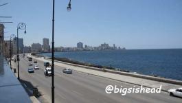 Cuba古巴遊記 沿著哈瓦那海堤大道Malecón行軍十公里(蜜月之旅day2-2)