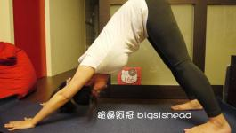 easyoga瑜伽/瑜珈馬拉松 3/6(三) Day 6–【下犬式/ Downward-Facing Dog Pose】