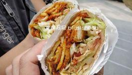 新加坡小吃|烏節路上好吃的沙威瑪卷餅(Shiraz-MAZZEH)