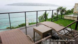 日本沖繩住宿|chillma的超大雙人海景房キングサイズダブル(オーシャンビュースイート)