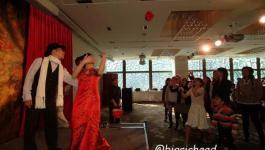 。喜喜來了。台北故宮晶華婚宴–復古中國風之婚禮MV、舞台活動