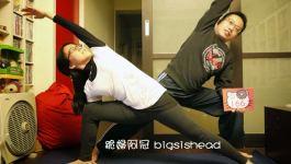 easyoga瑜伽/瑜珈馬拉松 3/14(四) Day 14–【側三角式/ Extended Side Angle Pose】