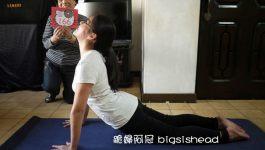 easyoga瑜伽/瑜珈馬拉松 3/8(五) Day 8–【眼鏡蛇式/ Cobra Pose】
