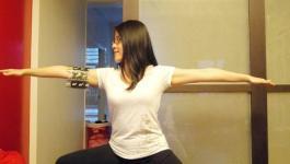 easyoga瑜伽/瑜珈馬拉松 3/11(一) Day 11–【戰士二式/ Warrior II】