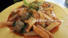 台中餐廳|勤美綠園道旁的書報館(Su Bau)義大利麵