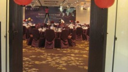 。喜喜來了。台北故宮晶華婚宴–復古中國風是這樣來的