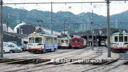 日本四國高知の鐵道迷不能錯過的Tosaden土佐路面電鐵