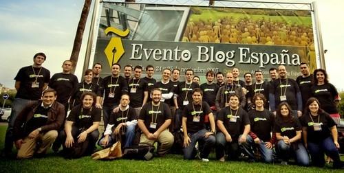 Foto de familia de Weblogs SL en el EBE07
