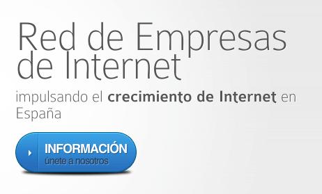 Red de empresas de internet