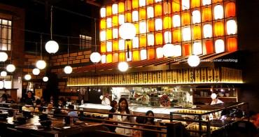 【台中美食】大江戶町居酒屋 - 裝潢有日本居酒屋味道.滿適合家庭朋友聚會好所在的