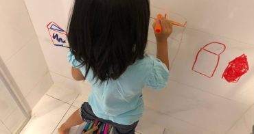 『預購團』一筆多畫英國Little Brian可洗無毒兒童專用水彩棒(可水洗、可混色、可點點、可水彩)