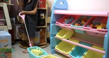 玩具間美麗、好玩的一角,WOOHOO 兒童玩具收納櫃-拉車款