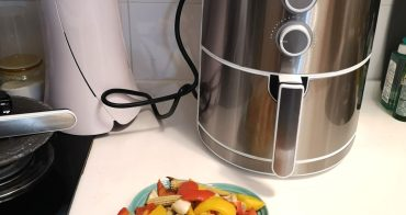 容量大大滿足一家四-日本品牌Peconic 美型氣炸鍋