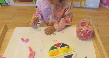 『3Y6M』雙手的畫畫藝術,孩子的盡情揮灑-朵印坊無毒大印台及印章、指印的創作