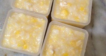 〃『副食品』香甜又一波-改良過後的雞蓉玉米粥〃