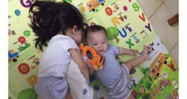 『媽的心情』半歲嬰兒與3歲幼兒的手足之情十分奇妙
