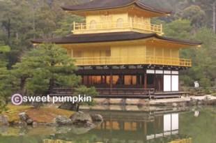 [遊記] 京都,就像月曆上那一頁,閃閃發亮的金閣寺