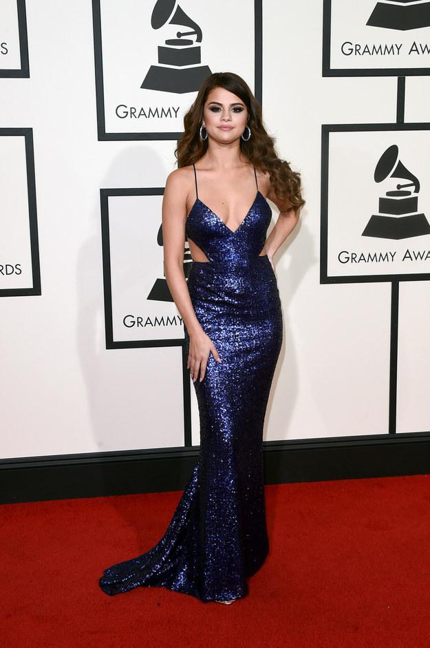 Selena Gomez en Calvin Klein.