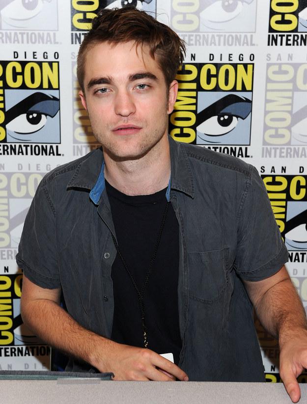 Robert Pattinson gave himself a haircut? SMH.