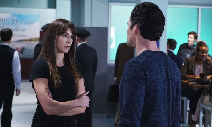 "Ezra was at the airport, where he ran into ""Spencer"", having a heated conversation with Wren. This Spencer was dressed all in black, whereas the Spencer we'd seen in a previous scene was wearing a white coat. This scene was also never mentioned again, and a lot of people took it as the final confirmation that Spencer's twin was a canon storyline."