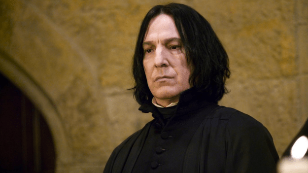 Severus Snape is a polarizing character. You either love him or you hate him. Or you kinda love him or kinda hate him. Or you can't decide. There are layers, is what I'm saying.