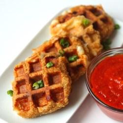 Phantasy Mozzarella Stick Waffles Recipe By Tasty Mozzarella Sticks Near Me Fast Food Mozzarella Sticks Near Me