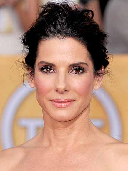 Sandra Bullock's Messy Updo at the 2014 SAG Awards of 1 by Colleen