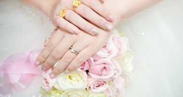 My Wedding|超浪漫夢幻新娘造型光療指甲。結婚宴客光療指甲款式推薦